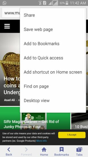 Desktop Version Internet Browser Android