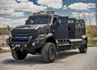 INKAS Huron APC Armored Vehicle