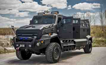 INKAS Huron APC Armored Vehicle