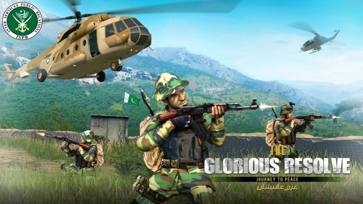 The Glorious Resolve –  A Game Released by ISPR Is it Worth Playing?