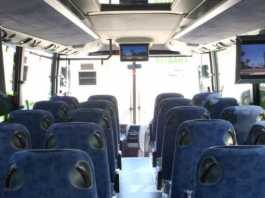 TV Monitors for Buses Have Changed Passenger Fleet Vehicles